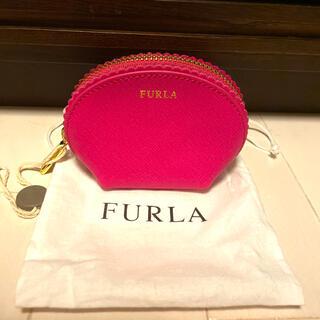フルラ(Furla)のFURLA フルラ ミニポーチ コインケース ピンク 新品保存袋付き(コインケース)