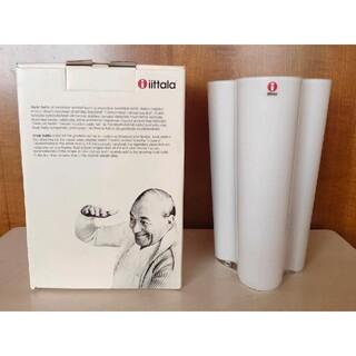 iittala - 未使用 イッタラ Aalto ベース 花瓶 フィンランディア ホワイト 箱あり