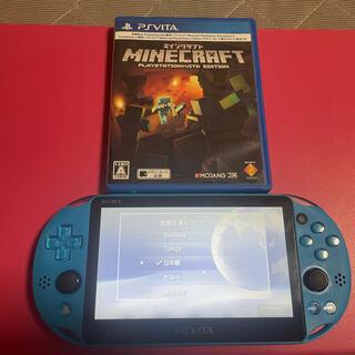 PlayStation Vita - vita アクアブルー 比較的美品 3