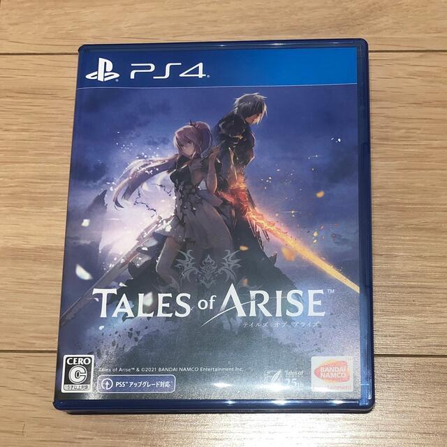 テイルズ オブ アライズ PS4 エンタメ/ホビーのゲームソフト/ゲーム機本体(家庭用ゲームソフト)の商品写真