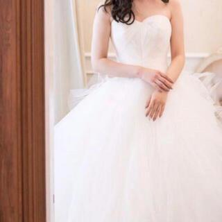 ヴェラウォン(Vera Wang)のvera wang octavia US0結婚式ウェディングドレス前撮りドレス(ウェディングドレス)