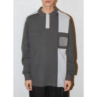 ジエダ(Jieda)のGR10K / BADGE HOLDER L/S 3M POLO SHIRT(ポロシャツ)