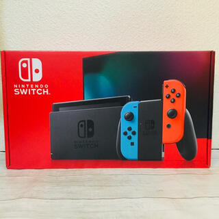Nintendo Switch -   Nintendo Switch 本体 ネオンレッド ネオンブルー