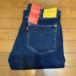 Levi's - Levi's RED 505 STRAIGHT GOLDEN INK 新品