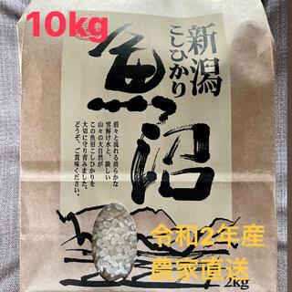 魚沼産コシヒカリ 令和2年 10キロ