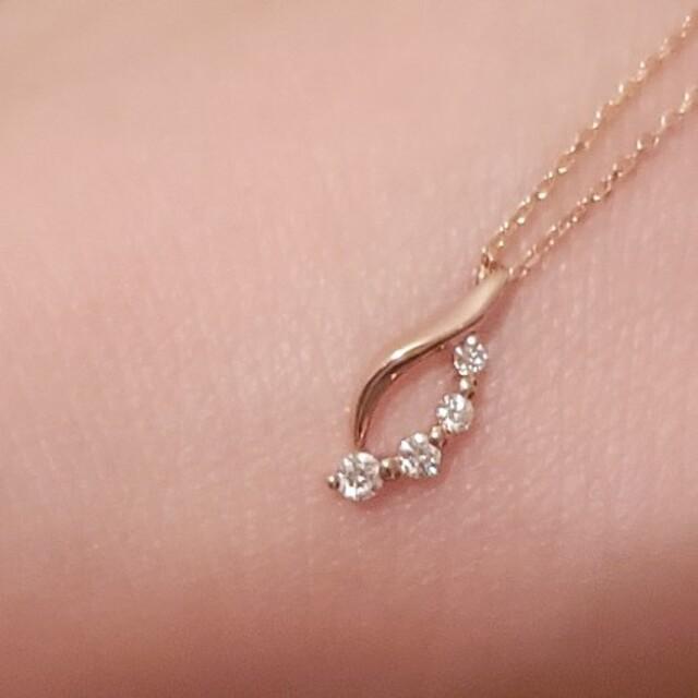 STAR JEWELRY(スタージュエリー)のsold out   スタージュエリー ダイヤ ネックレス  ネックレスのみです レディースのアクセサリー(ネックレス)の商品写真