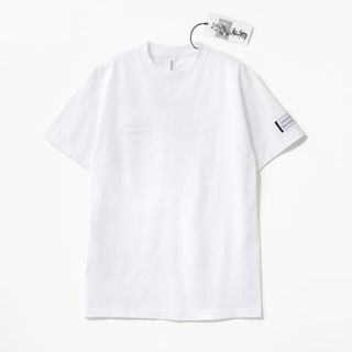 1LDK SELECT - ENNOYとスタイリスト私物 同色反転右胸刺繍 Tシャツ