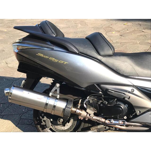 ホンダ(ホンダ)の走行12,900km 極上 シルバーウイングGT600 車検長いシルバーウィング 自動車/バイクのバイク(車体)の商品写真