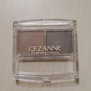 CEZANNE(セザンヌ化粧品) - 美品 セザンヌ パウダーアイブロウR  ソフトブラウン