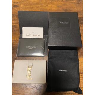 サンローラン(Saint Laurent)のSaint Laurent サンローラン 三つ折り財布 タイニーウォレット(折り財布)
