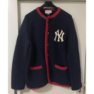 Gucci - 定価約25万 サイズS グッチ x NY ヤンキース カーディガン 本物美品