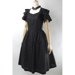 Victorian maiden - 送料無料 美品 EXCENTRIQUE 17SU Marthaのドレス ブラック
