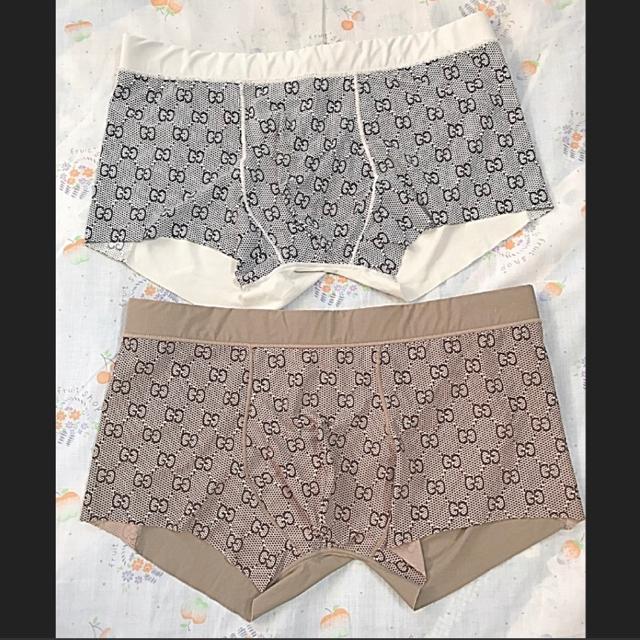 Gucci(グッチ)のGUCCI グッチ 希少 ✨GG柄✨ボクサー パンツ L 2枚 セット メンズのアンダーウェア(ボクサーパンツ)の商品写真