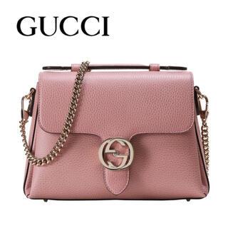 Gucci - GUCCI インターロッキング2wayショルダーバッグ