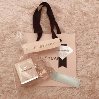 JILLSTUART - ジルスチュアート サンプル ノベルティ  ミニ  香水  ショップ袋付 ①