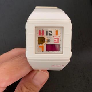 ベビージー(Baby-G)のCASIO baby-g ホワイト(腕時計)