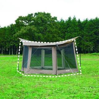 UNIFLAME - 【新品】ユニフレーム レボメッシュウォールIIMタンカラースカート付き