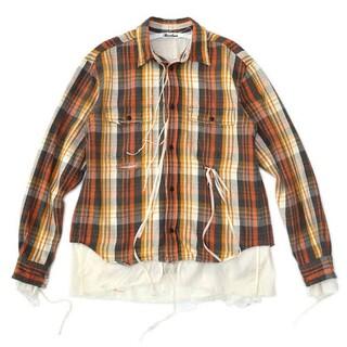 SUNSEA - Midorikawa 20AW Cut off layered Shirt