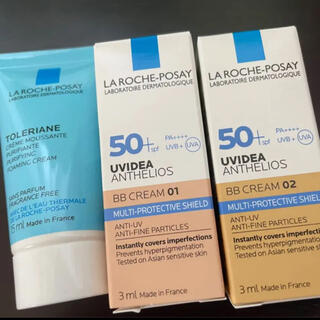 LA ROCHE-POSAY - ラロッシュポゼ  BBクリームサンプル  洗顔料 ミニセット