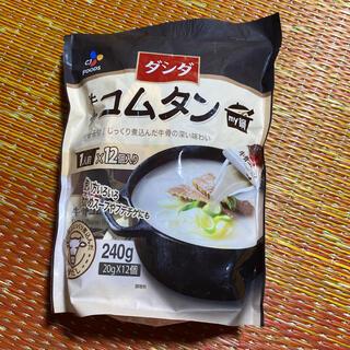 コストコ(コストコ)のダシダ  牛骨コムタン 12個(調味料)