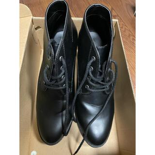 ユニクロ(UNIQLO)のショートブーツ  黒(ブーツ)