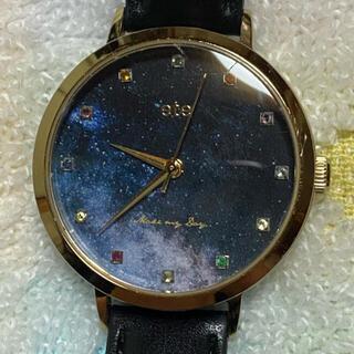 エテ(ete)のete エテ バースデーストーン スターリースカイ 星空 夜空 誕生石 腕時計(腕時計)