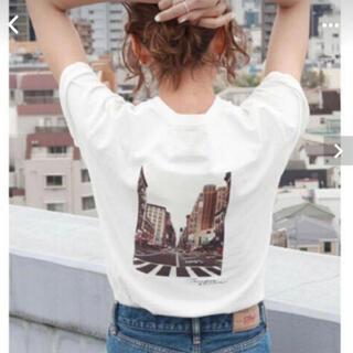 アングリッド(Ungrid)のungrid アングリッド バックフォトプリントT (Tシャツ(半袖/袖なし))