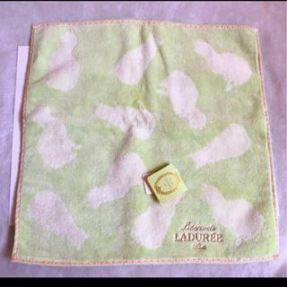 ラデュレ(LADUREE)のラデュレ タオルハンカチ(ハンカチ)