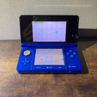 ニンテンドー3DS(ニンテンドー3DS)の任天堂3DSコバルトブルー(家庭用ゲーム機本体)