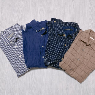 ユナイテッドアローズ(UNITED ARROWS)のユナイテッドアローズ 長袖シャツ 4枚セット(シャツ)