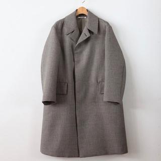 コモリ(COMOLI)のauralee 18aw コート サイズ3(ステンカラーコート)
