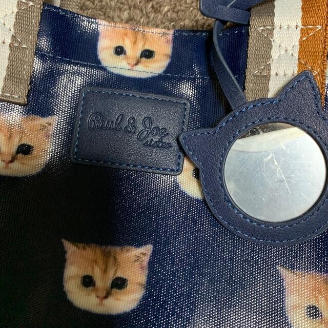 PAUL & JOE(ポールアンドジョー)のポール&ジョー ヌネット総柄 ランチトートバッグ 美品 レディースのバッグ(トートバッグ)の商品写真