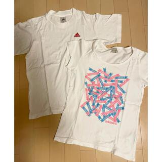 adidas - アディダス白半袖♡2枚セット