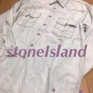 STONE ISLAND - stone♡Islandビンテージ風デニムシャツ