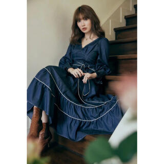 snidel - herlipto Signs of Autumn Belted Dress