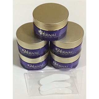 ヴァーナル(VERNAL)のヴァーナル キハナクリーミーセラム10g×3個&スパチュラ3本(美容液)