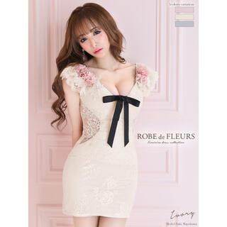 ROBE - ROBE de FLEURS ローブドフルール ドレス キャバドレス ミニドレス