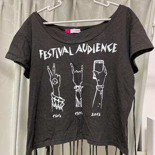 ジェイダ(GYDA)のフリンジ Tシャツ GYDA ジェイダ(Tシャツ(半袖/袖なし))