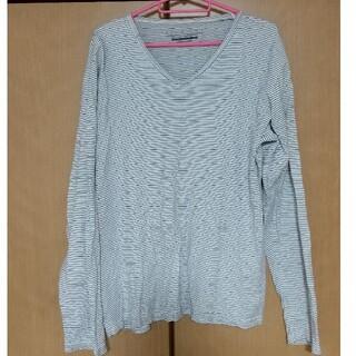 長袖 横縞(Tシャツ/カットソー(七分/長袖))