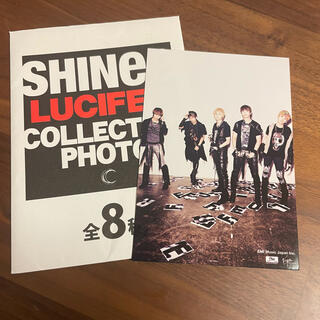 SHINee - SHINee  LUCIFER リリイベ公式生写真