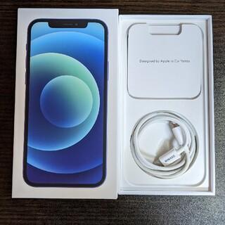 iPhone - 【美品】 iPhone12  64g  simフリー ブルー