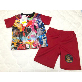 BANDAI - 【新品未使用・タグ付き】ゼンカイジャー 柄が変わる パジャマ 100㎝