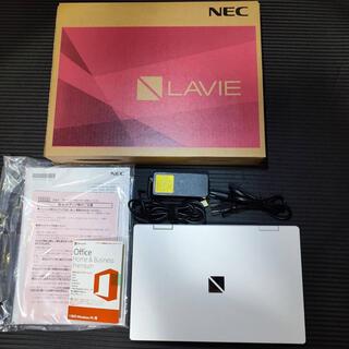 エヌイーシー(NEC)の【ほぼ新品/Office付き】LAVIE Note Mobile NM350(ノートPC)