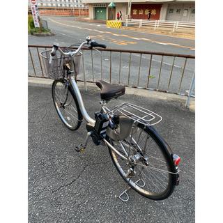 ヤマハ(ヤマハ)のYAMAHA PAS NATURA 電動自転車、8.7Ah、 4点灯/4点(自転車本体)
