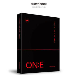 防弾少年団(BTS) - BTS MAP OF THE SOUL ON:E DVD フォトブック