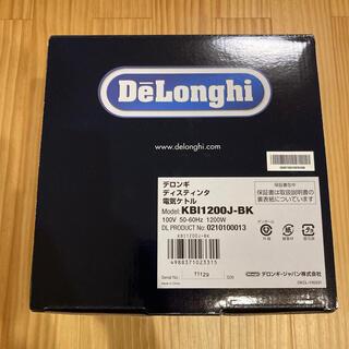 デロンギ(DeLonghi) 電気ケトル 黒 KBI1200J-BK