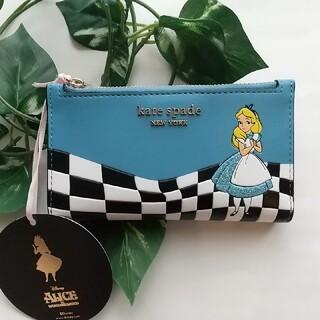 ケイトスペードニューヨーク(kate spade new york)の【日本未発売】kate spade 不思議の國のアリス 折り財布(財布)