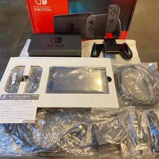 Nintendo Switch - 【美品】任天堂 Switch 本体 グレー スイッチ ニンテンドー