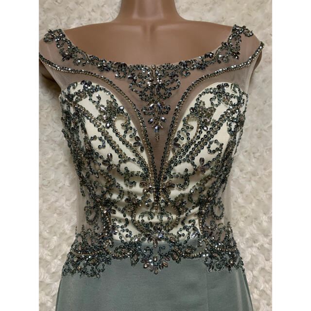 AngelR(エンジェルアール)の91526*IRMA*sugar限定カラー*カラービジュー/シアードレス レディースのフォーマル/ドレス(ナイトドレス)の商品写真