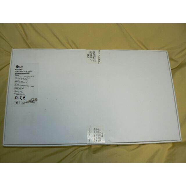 LG Electronics(エルジーエレクトロニクス)のLG gram 15Z980-GR55J Win10 i5 SSD128GB スマホ/家電/カメラのPC/タブレット(ノートPC)の商品写真